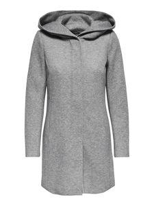 Only Damen-Woll-Mantel onlSedona Light Coat Otw 15142911, Größe:M, Farbe:Grau