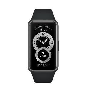 "Huawei Band 6 Fitness Tracker 1.47"" 5ATM 96 Workout-Modi Schwarz Globale Version"