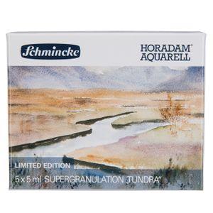 Schmincke Aquarellstifte »Horadam Aquarellfarbe - Tundra - 5 x 5ml Supergranulation 74 848 097«