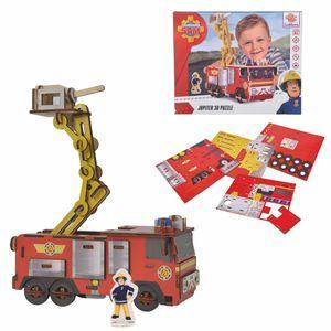 Eichhorn Feuerwehrmann Sam 3D Puzzle