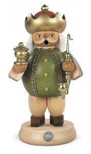 Räucherfigur Räuchermann Caspar mittelgroß Heiligen Drei Könige (BxH):11x18cm NEU