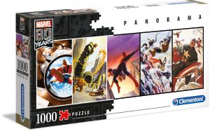 Clementoni 39546 Marvel 80 Jahre 1000 Teile Panorama Puzzle