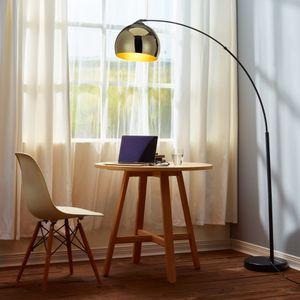 Stehleuchte Stehlampe Standleuchte LED Gold Arquer Versanora VN-L00012-EU