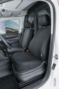 Walser Sitzbezüge für VW Caddy Einzelsitz vorne aus Stoff ab BJ 02/2004 - heute, 10517