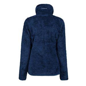Icepeak Fleecejacke Damen Colony Langhaar Fleece Jacke, Farbe:Blau, Damen Größen:XL