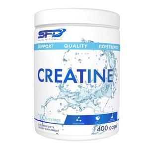Creatin Kreatin 400 Creatine Kapseln Monohydrate Taurin Muskelaufbau Kraftzuwachs Ausdauer Aufbauphase