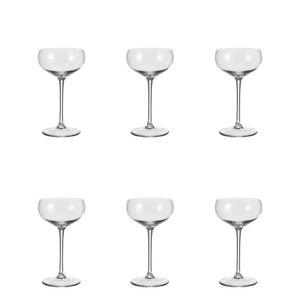 Leonardo Cheers Sektschale, 6er Set, Sektglas, Champagnerglas, Glas, 315 ml, 19987