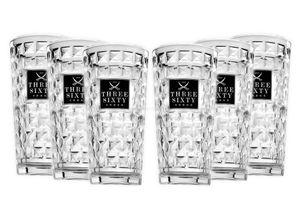 Three Sixty Gläser-Set – 6x Vodka Gläser 0,3L