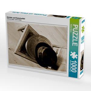 Calvendo Zylinder und Hutschachtel 1000 Teile Puzzle hoch 480x640mm, Marten Martina; 7363609