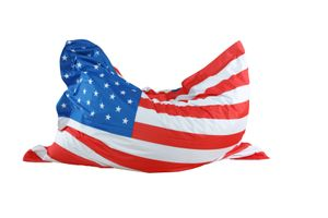 Sitzsack ca. 130 x 170 cm, Länderflagge USA Stand.-Var.