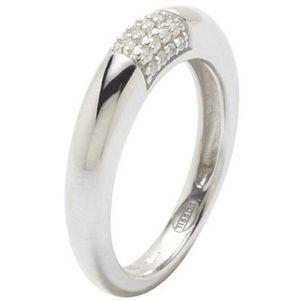 Fossil JF17955 Damen Ring JF 17955 Silber Zirkonia weiß Größe 53 (17,0 mm)