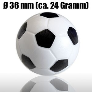 20 Kickerbälle 36mm