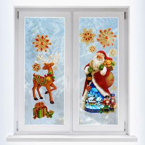 Fensteraufkleber 3D »Weihnachten«