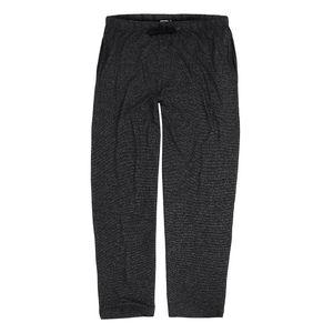 ADAMO lange Loungwear Hose in Übergrößen bis 12XL Serie Leon für Herren meliert, Größe:10XL, Farbe:schwarz