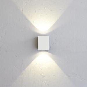 Nordlux LED Außen-Wandleuchte Canto Kubi 2 IP44 Weiß (LT)