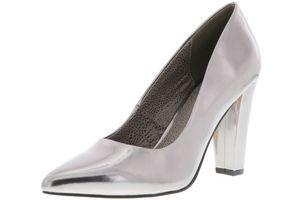 BULLBOXER Damen Pumps silber, Größe:39, Farbe:Silber
