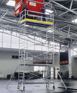 ZARGES Multitower 2T - LM-Fahrgerüst Ausleger Arbeitshöhe 7,55 m