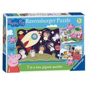 Ravensburger Peppa Pig, Puzzlespiel, 15 Stück(e), Cartoons, Kinder, 3 Jahr(e)