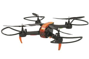 Denver Quadrocopter DCW-360, 4 Rotoren, 640x480 Pixel, 50 m, 1000 mAh, Farbe: Schwarz/Orange