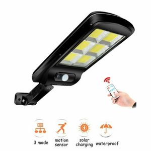 LED Solarlampe mit Bewegungsmelder Außenstrahler Wandstrahler