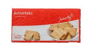 Jeden Tag Butterkeks 13% Butteranteil 2x200g