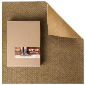 TEPPIX™ Duo - Antirutschmatte für textile Böden | Teppichunterlage ohne Weichmacher | Rutschmatte Teppich auf Teppich | Teppichvlies 240x300 cm
