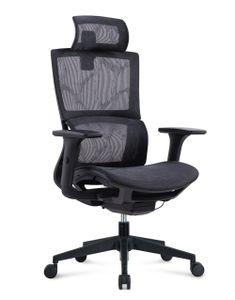 MIIGA ergonomischer Profi Bürostuhl Homeoffice Chefsessel MG233A Schwarz