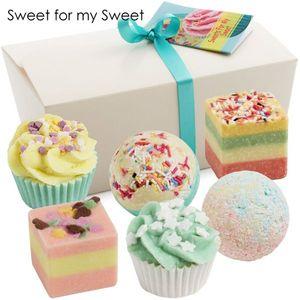 "BRUBAKER Cosmetics Badepralinen ""Sweets For My Sweet"" handgemacht und vegan"