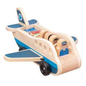 Holz Lkw Modell Spielzeug Transporter Spielzeug Geschenke für Kinder auf Geburtstag/Weihnachten Tag Flugzeug Hölzern modern Modellfahrzeugspielzeug