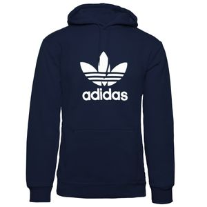 Adidas Kapuzenpullover blau XXL