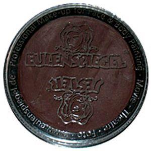 Eulenspiegel - Profi-Aqua Make-up Schminke - 20 ml, Farbe:Dunkelbraun