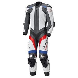 Held Race-Evo II 1 tlg. Lederkombi blau / rot / weiß 54