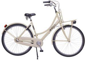 AMIGO Transportfahrräder Damen Forest 28 Zoll 53 cm Damen 3G Rücktrittbremse Creme