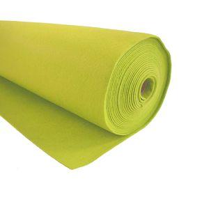 Bastelfilz 1m Meterware Filz 90cm x 1,5mm Dekofilz Taschenfilz Filzstoff 39 Farben, Farbe:limette