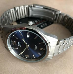 RUHLA UMR Uhrenmanufaktur Ruhla Titanuhr Titan-Herrenuhr Elegance 1310-4