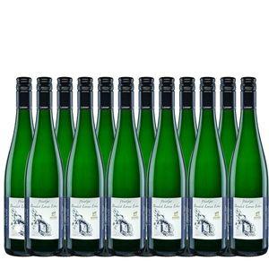 Weißwein Mosel Riesling WeinGut Benedict Loosen Erben Auslese süß vegan (12x0,75l)