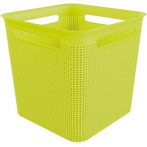 Box quadratisch 18 l BRISEN, Farbe:Limettengrün