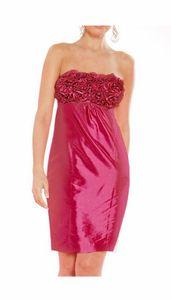 APART Kleid m. Rüschen, magenta Abendmode Größe: 38