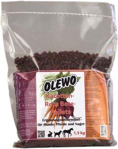 Olewo Karotten - Rote Bete - Pellets 1,5kg