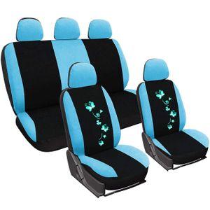 Auto Sitzbezüge für PKW AS7252 : Schwarz-Blau