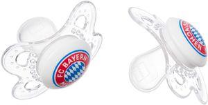 FC Bayern München Schnuller 2er Set, 0-6 Monate