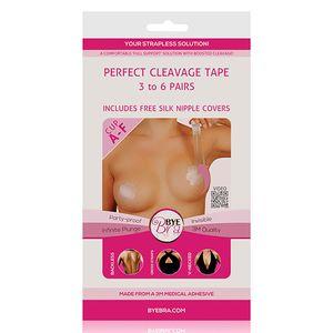 Bye Bra - Perfecte Decollete Tape A-F Huidskleur 3-6 Paar