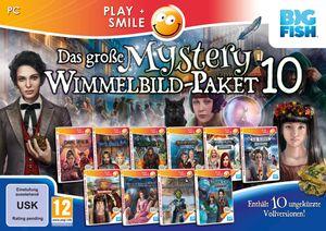 Das große Mystery-Wimmelbild-Paket 10 - CD-ROM DVDBox