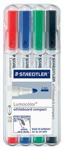 STAEDTLER Lumocolor Whiteboard Marker 4er Set