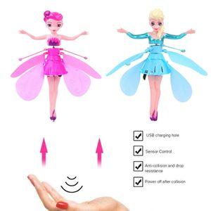 Prinzessin Aisha und die rosa Fee, Induktionsspielzeug für fliegende Feen, Induktionsflugzeug