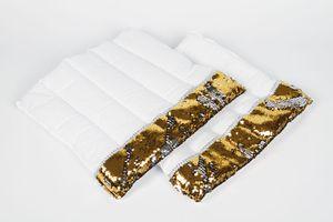 Harry's Horse Bandagier Unterlagen colour switch, Farbe:gold-silber, Größe:full