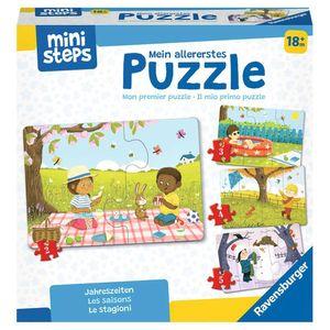 RAVENSBURGER ministeps Mein allererstes Puzzle: Jahreszeiten Kinderpuzzle