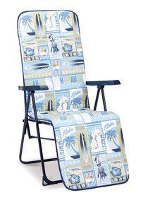 BEST Relaxliege Chiemsee blau, 34308028 blau