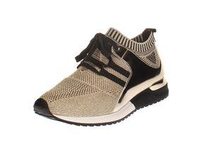 La Strada 1806936 - Damen Schuhe Sneaker - 4543-gold, Größe:39 EU
