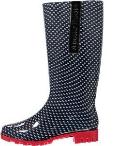 XQ Footwear regenstiefel Damen Gummi/Synthetik blau